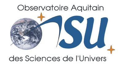logo du CDS-IS-OASU, Observatoire Aquitain des Sciences de l'Univers